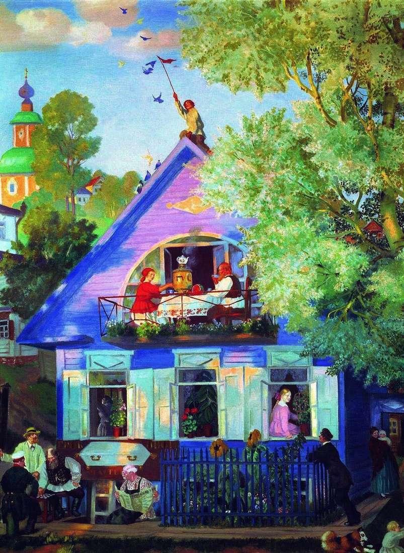 البيت الأزرق   بوريس كوستودييف