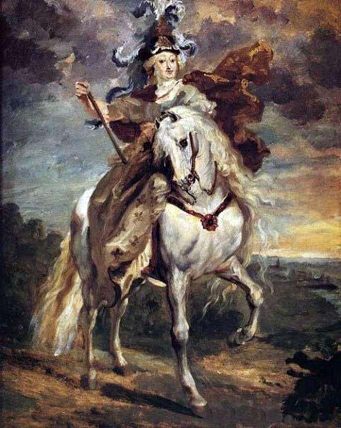 ماري دي ميديسي في معركة بونت دي سيو   ثيودور جيريكولت