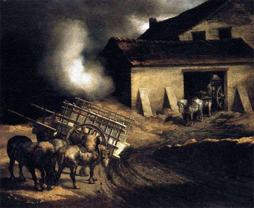 الجبس المحمص   تيودور Géricault
