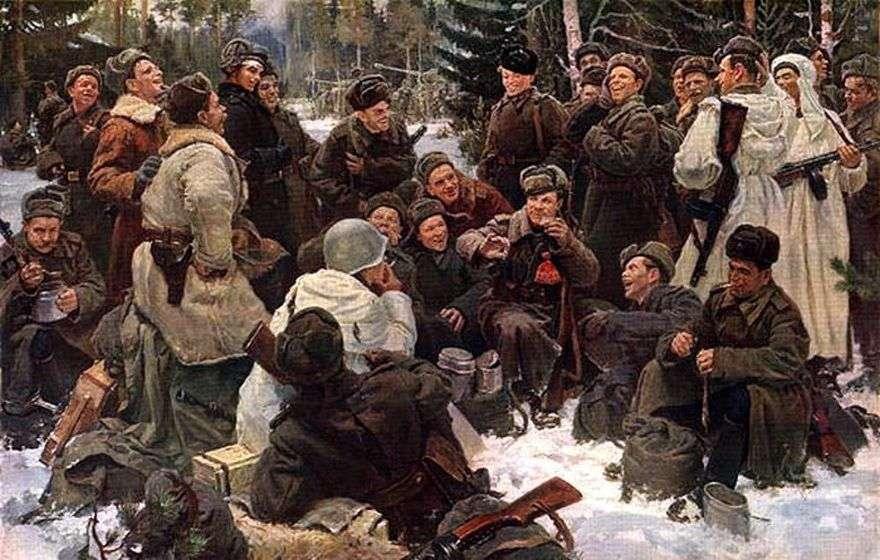 الراحة بعد المعركة   يوري Neprintsev