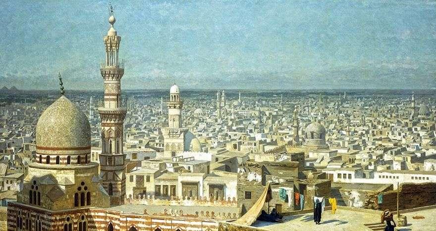 منظر القاهرة   جان ليون جيروم