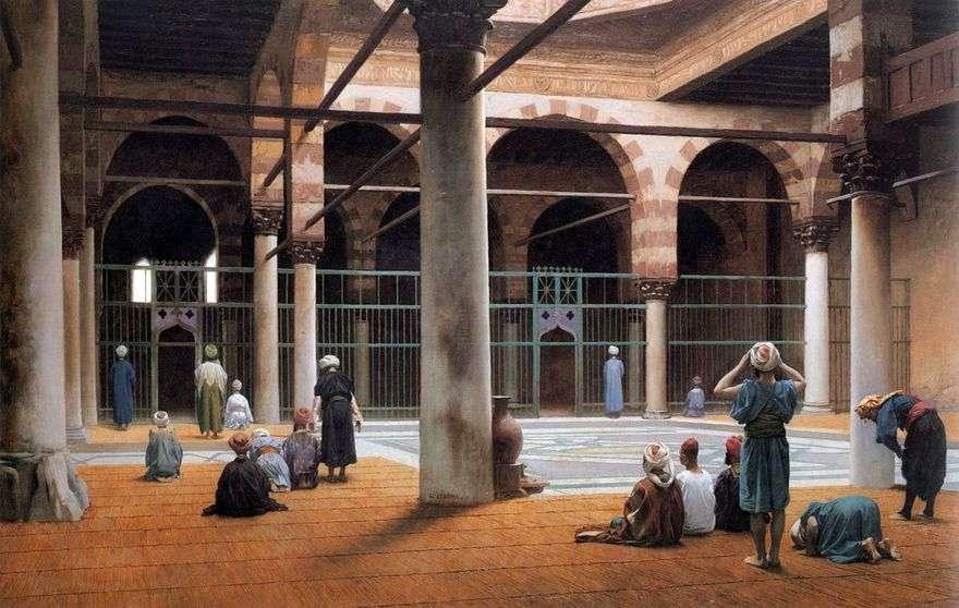 المسجد الداخلي   جان ليون جيروم