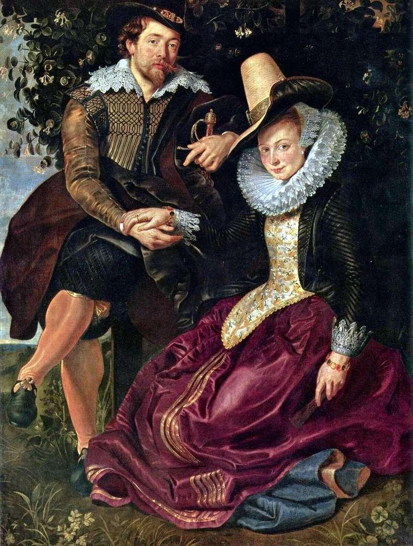بورتريه ذاتي مع إيزابيلا برانت   بيتر روبنز