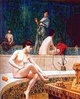 حمام تركي في حريم   جان ليون جيروم