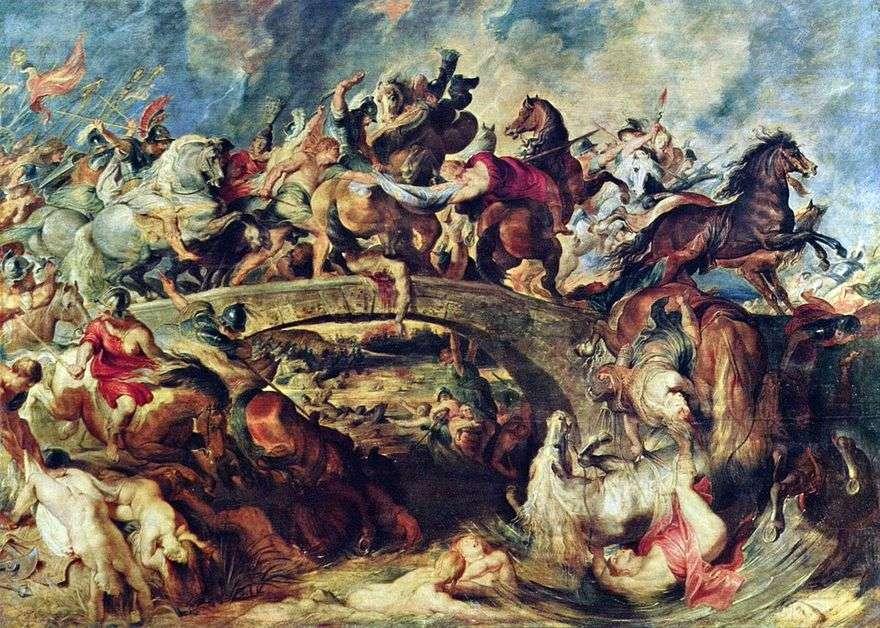 معركة الإغريق مع الأمازون   بيتر روبنز