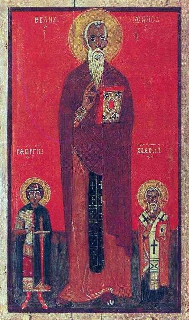 جون كليماكوس ، جورج وبلاسيوس