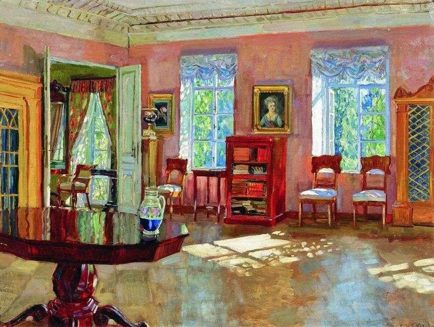 الداخلية لمكتبة منزل مانور   ستانيسلاف جوكوفسكي