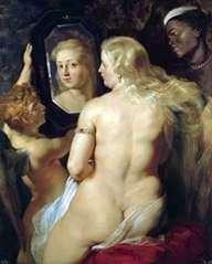 فينوس في المرآة   بيتر روبنز