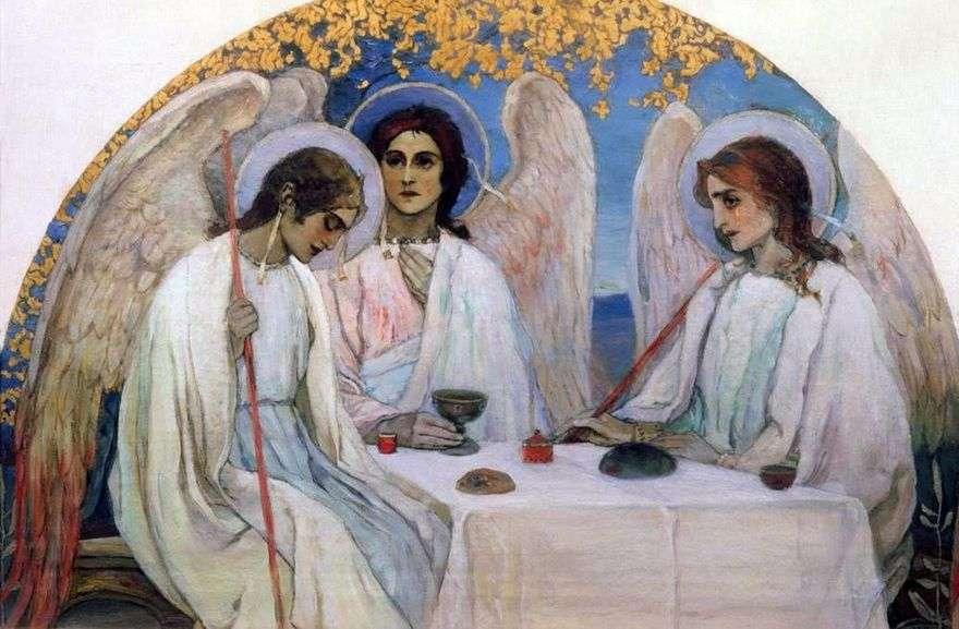 العهد القديم الثالوث   ميخائيل Nesterov