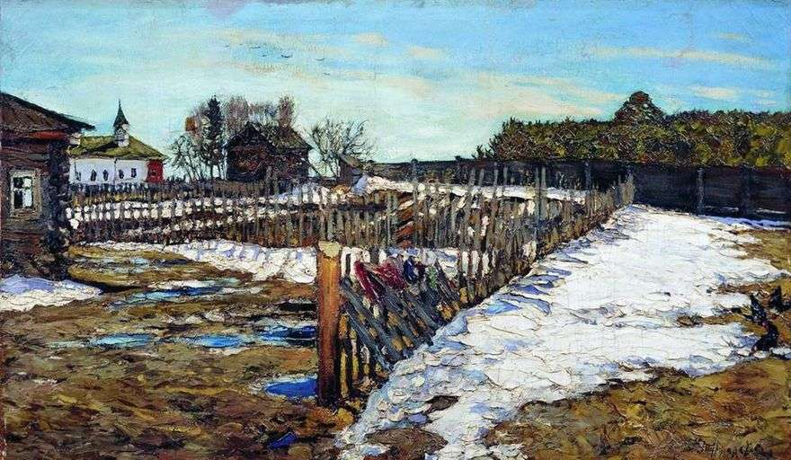 الربيع في الإقليم الغربي   ليونارد تورزانسكي