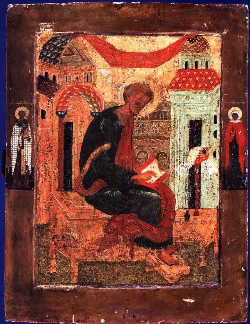 لوقا الإنجيلي ، مع القديسين في الحقول
