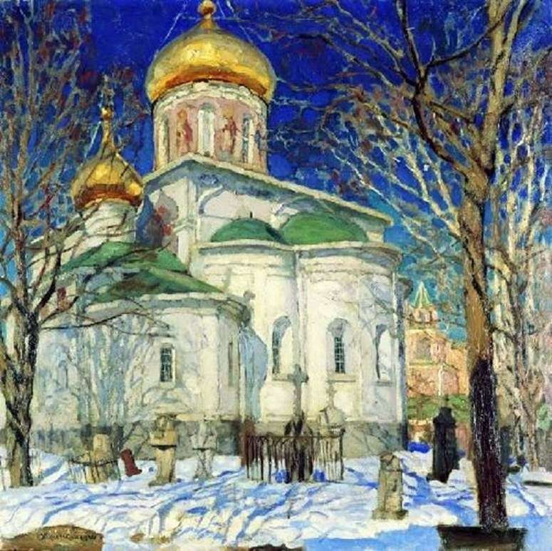 كنيسة ميلاد العذراء. زفينيجورود   ستانيسلاف جوكوفسكي