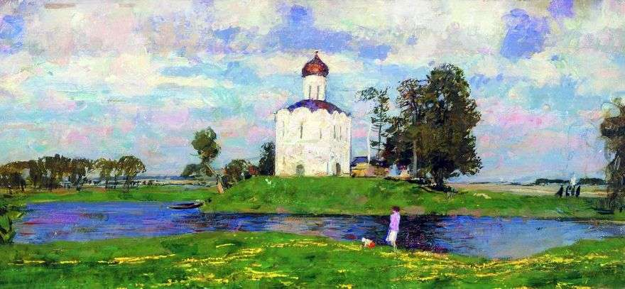 كنيسة الشفاعة في نيرل   سيرجي غراسيموف