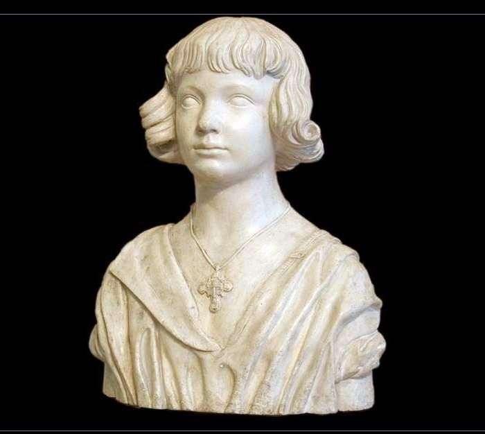 تمثال نصفي للطفل   الكسندر ايفانوف