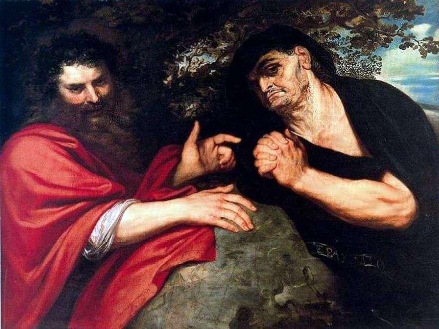 Democritus و Heraclitus   بيتر روبنز