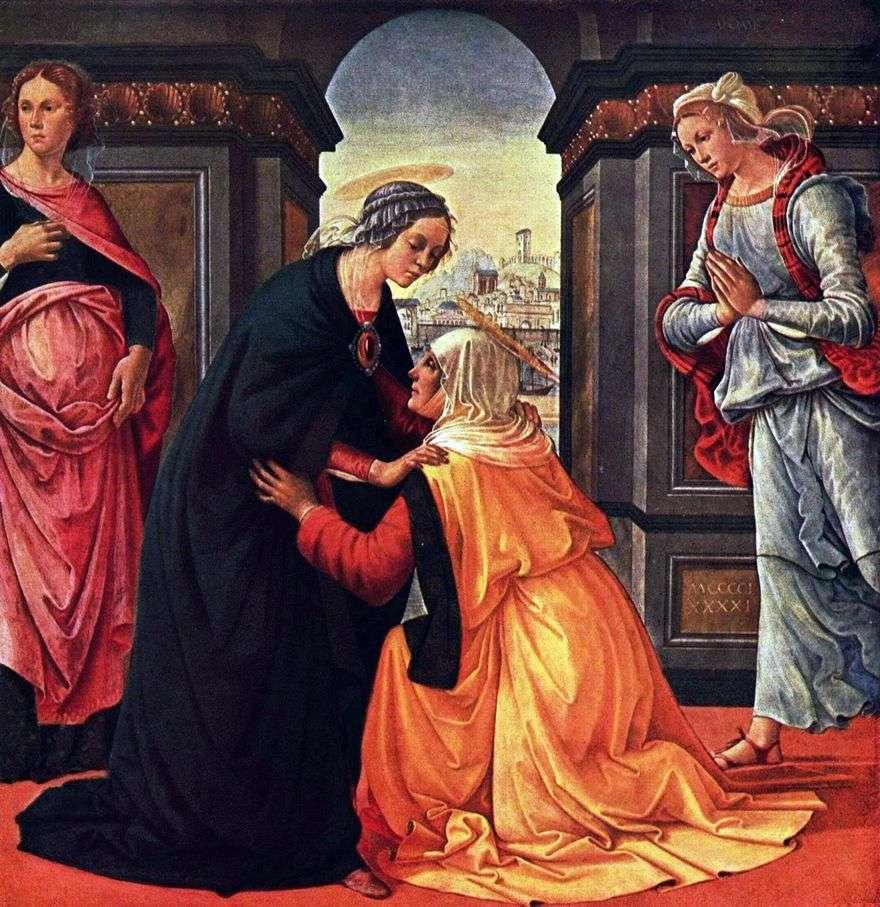 لقاء ماري وإليزابيث   دومينيكو غيرلانديو