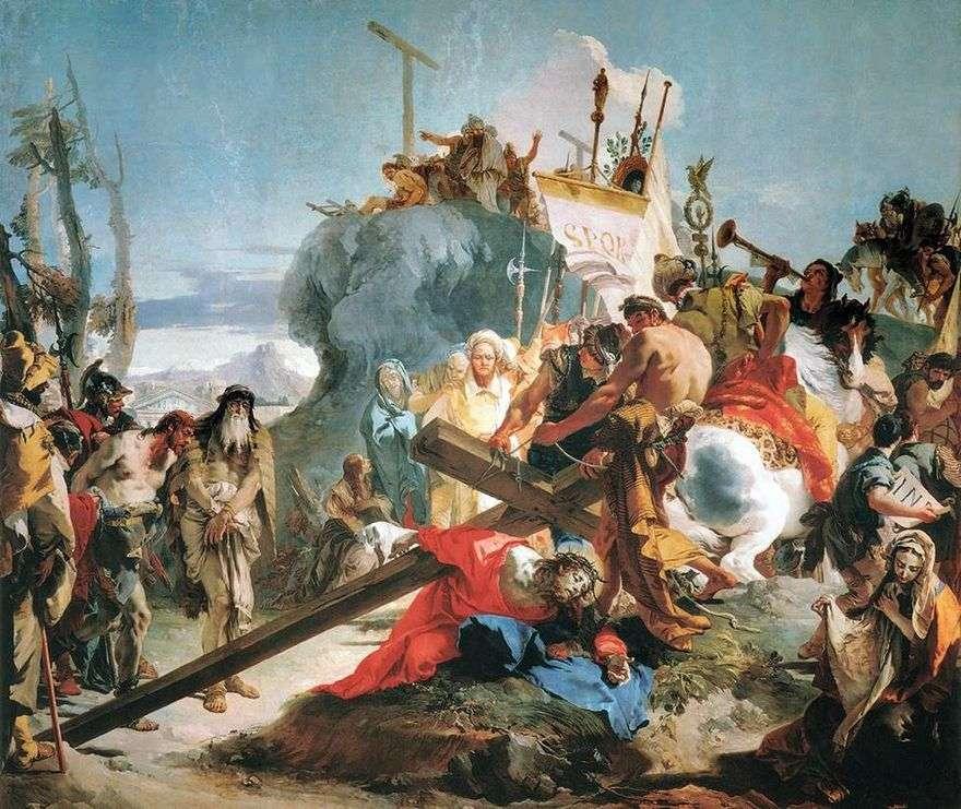 حمل الصليب   جيوفاني باتيستا تيبولو