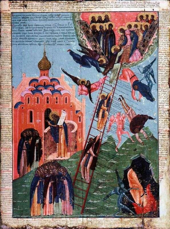 القديس يوحنا من سلم وصورة الرهبان
