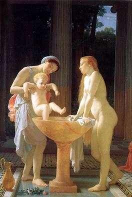 الاستحمام   تشارلز جرير