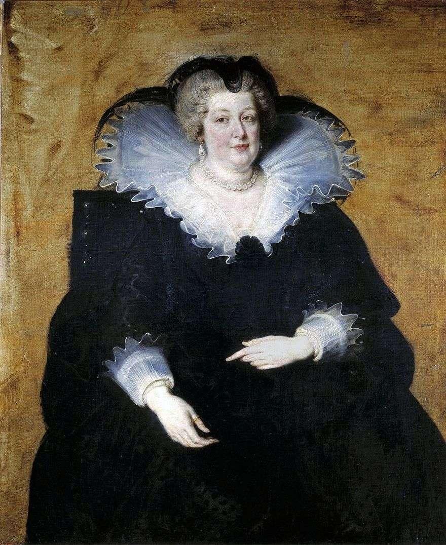 ماريا ميديشي   ملكة فرنسا   بيتر روبنز