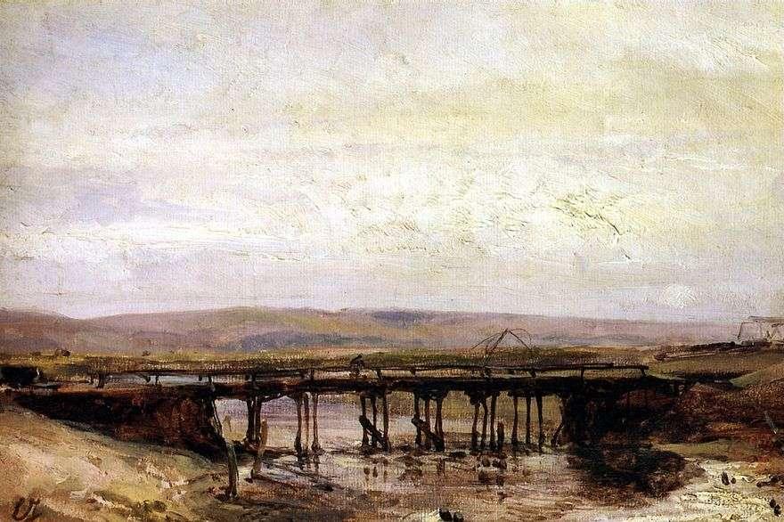 جسر خشبي   يوجين إيزابي