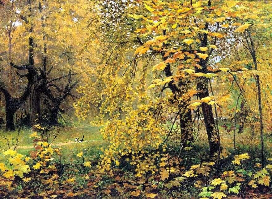 الخريف الذهبي   ايليا Ostroukhov