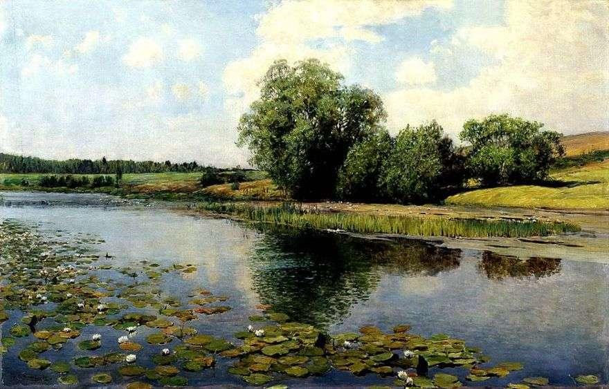 النهر عند الظهر   ايليا Ostroukhov