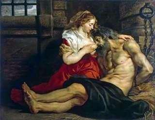 الحب الروماني (سيمون وريش)   بيتر روبنز
