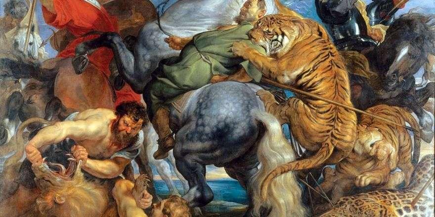البحث عن النمور والأسود   بيتر روبنز