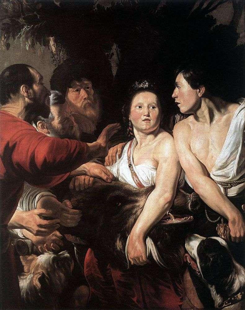 Meleager و Atalanta   يعقوب جوردان