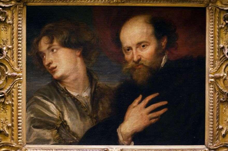 بيتر روبنز مع أنتوني فان دايك   بيتر روبنز
