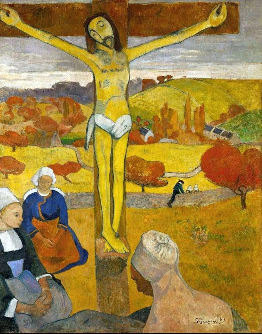 المسيح الأصفر   بول غوغان
