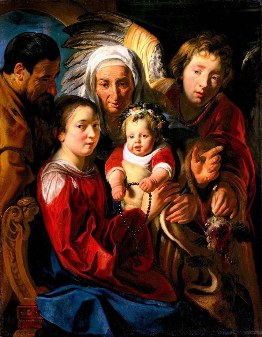 العائلة المقدسة   يعقوب جوردان