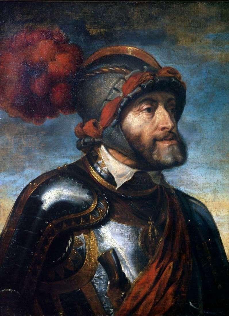 صورة الإمبراطور تشارلز الخامس   بيتر روبنز