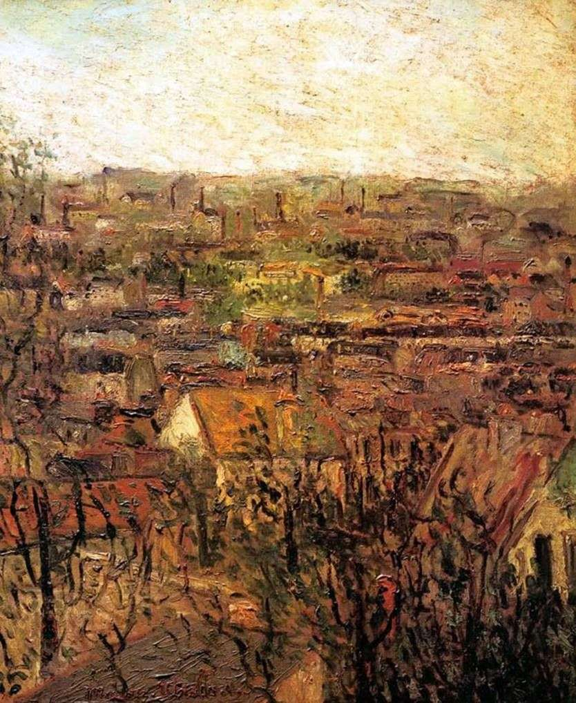 أسطح Monmagny   موريس Utrillo