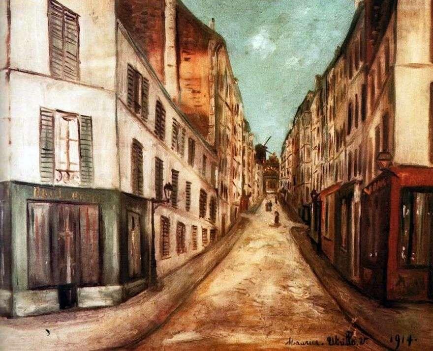 شارع باريس   موريس أوتريلو