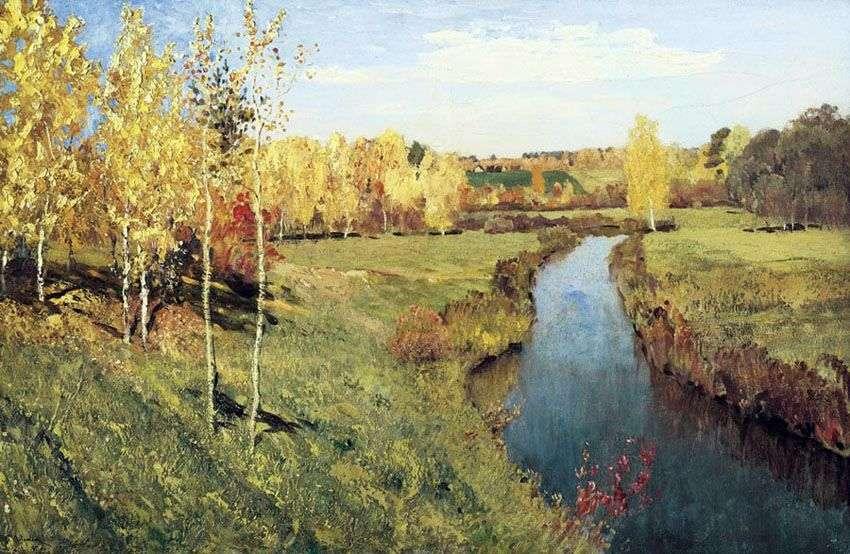 الخريف الذهبي   إسحاق ليفيتان