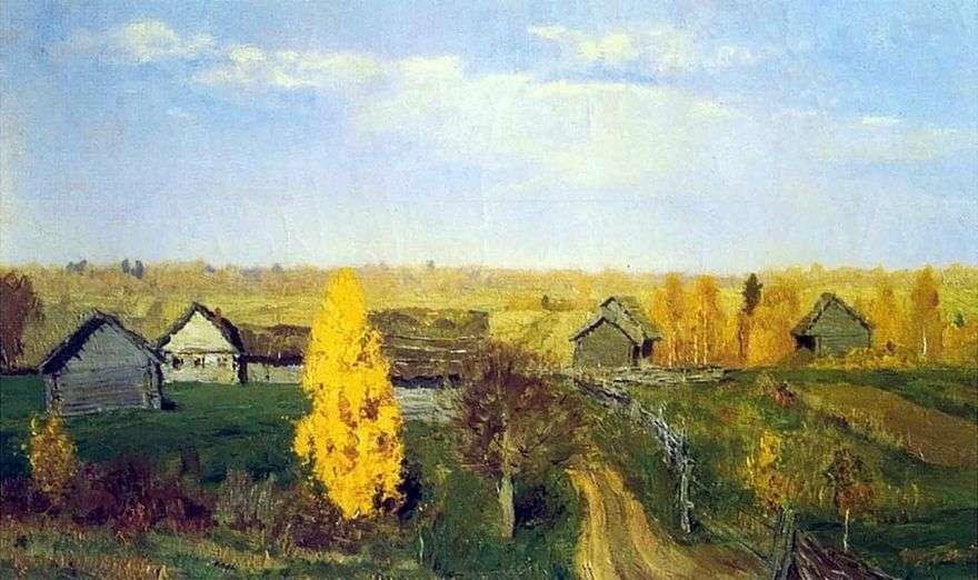 الخريف الذهبي. سلوبيدكا   إسحاق ليفيتان