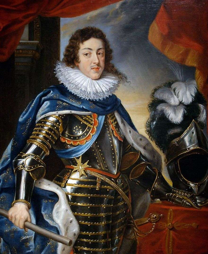 صورة لويس الثالث عشر ، ملك فرنسا   بيتر روبنز