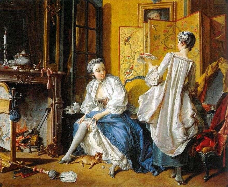 المرأة في الرباط   فرانسوا باوتشر