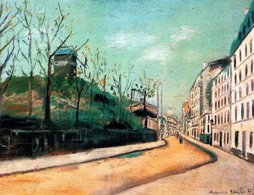 شارع Lepic ومولان دي لا غاليت   موريس أوتريلو