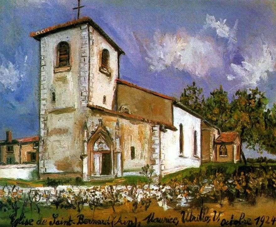كنيسة سانت برنارد   موريس أوتريلو