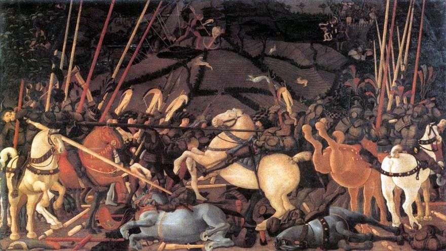 معركة سان رومانو   باولو أوشيلو