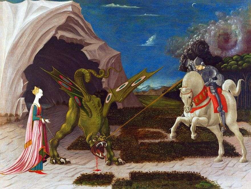 معركة القديس جورج مع التنين   باولو أوشيلو