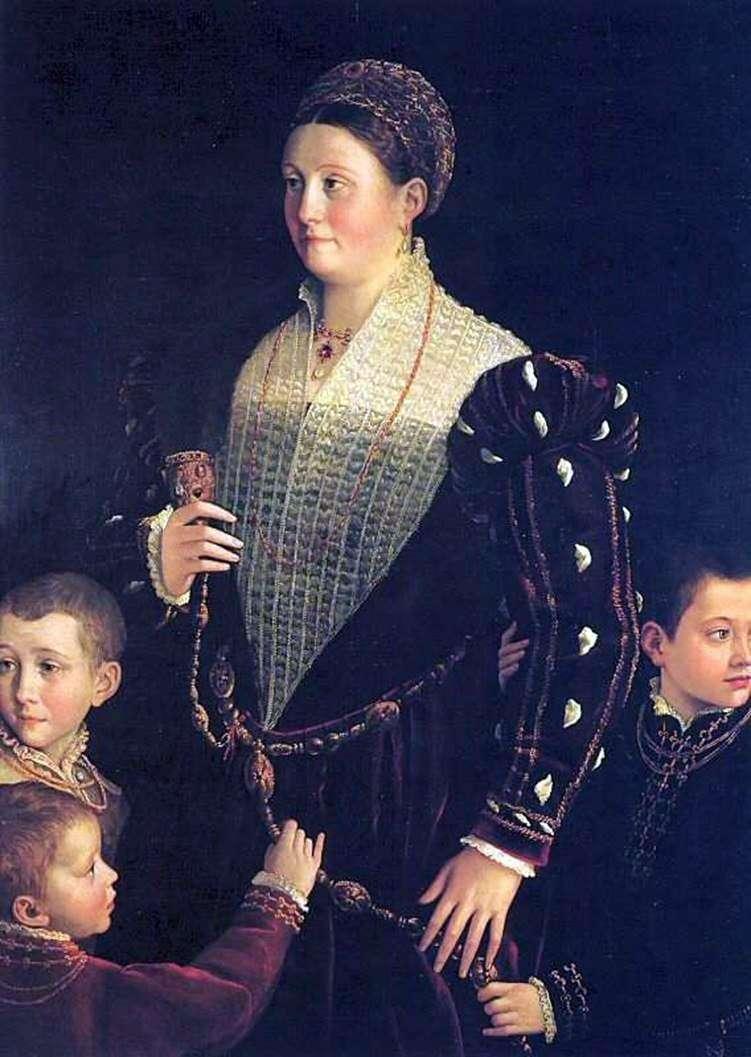اللزوجة Sansecondo مع الأطفال   فرانشيسكو Parmigianino