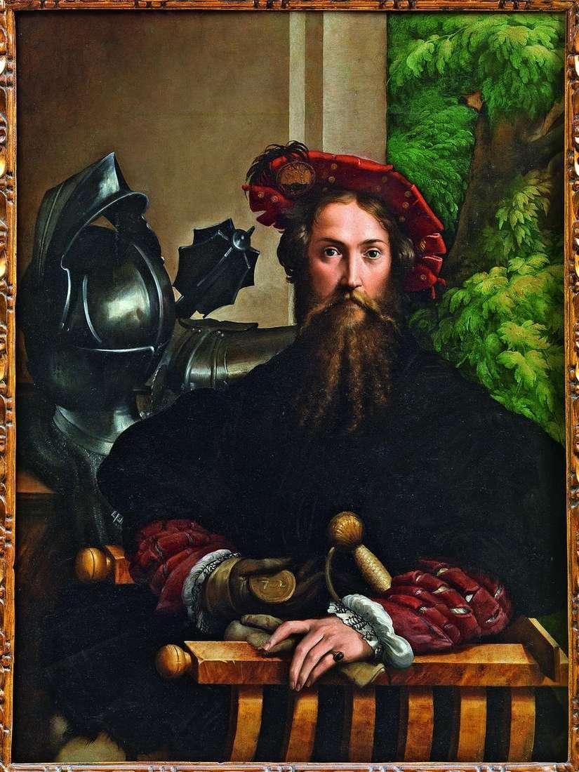 Galeazzo Sanvital، Prince Fontanelato   Francesco Parmigianino