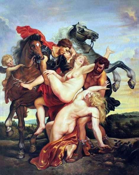 اختطاف بنات Leucippus   بيتر روبنز