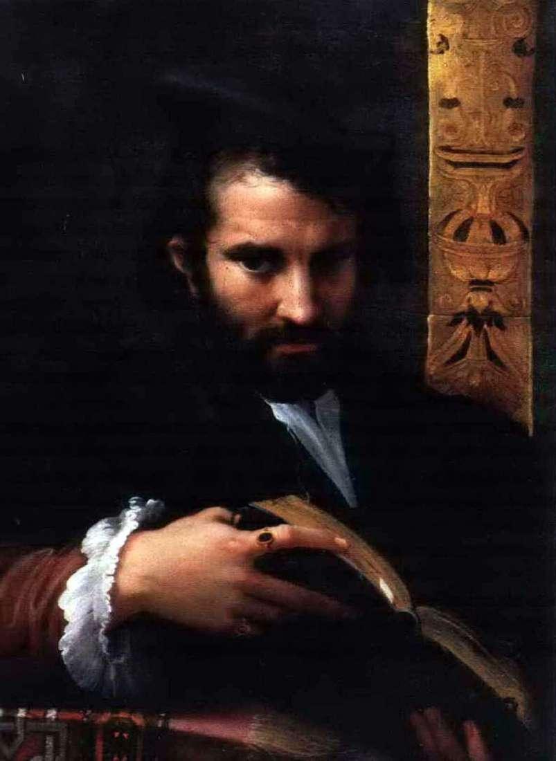 صورة لرجل مع كتاب   فرانشيسكو بارميجيانينو