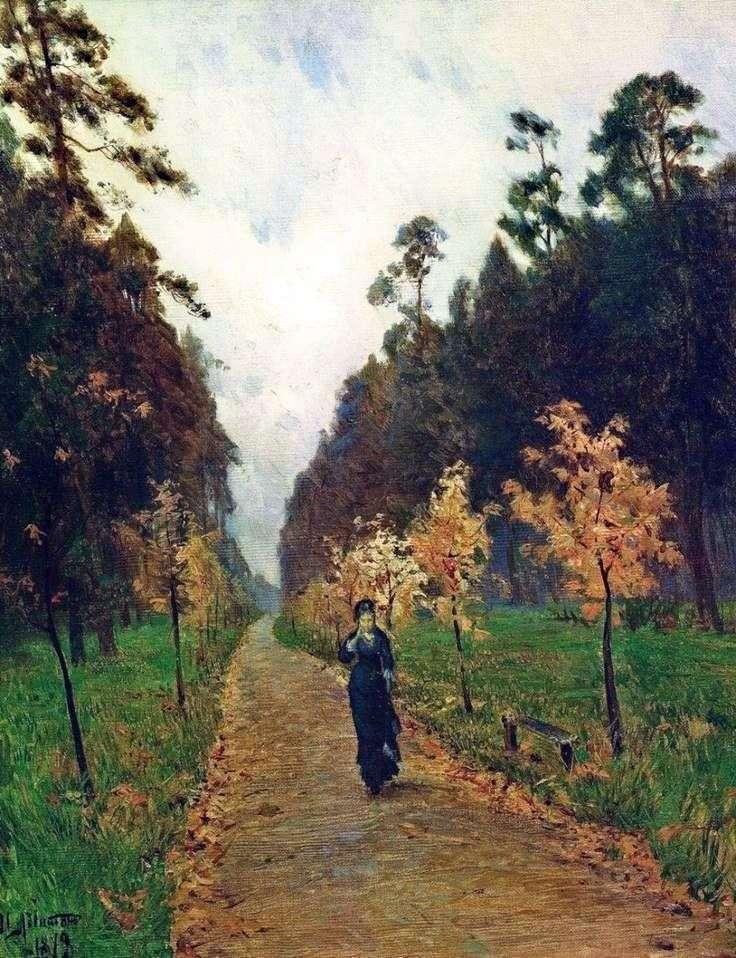 يوم الخريف في سوكولنيكي   إسحاق ليفيتان
