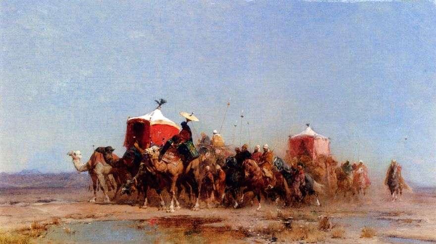 قافلة الصحراء   ألبرتو باسيني